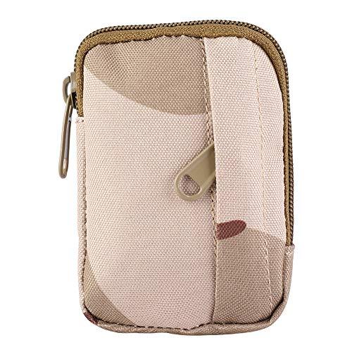 Changor Cómodo Cintura Bolso, Exterior Senderismo Viaje Cremallera Diseño 6.5 * 1 * 10cm Calidad Material con Nylon por Cámping