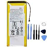Ellenne Batería compatible con Motorola Moto G4 Plus GA40 XT1622 XT1625 XT1641 XT1644+ de alta capacidad 3000 mAh con kit de desmontaje incluido