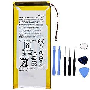 Ellenne Batería Compatible con Motorola Moto G4 Plus GA40 XT1622 XT1625 XT1641 XT1644+ AD de Alta Capacidad 3000 mAh con Kit de desmontaje Incluido