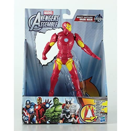 Hasbro A6632 - Marvel Avengers ASSEMBLEE Mighty Battlers Soggetto Iron Man