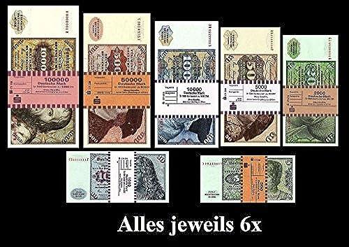 1.000.000 DM, Deutsche Mark, Geldscheine 1980, mit Banderole - Reproduktion