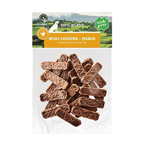Irish Pure Hundesnacks - Training Hund, Getreidefrei, Hunde Belohnung, 100% Natürlicher Snack, Hundeleckerli, Gesunder Hundesnack, Kausnack - 150g (Huhn)