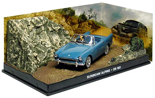 サンビーム アルパイン 1/43 ミニカー ボンドカー SUNBEAM ALPINE 映画 007 ドクター・ノオ [並行輸入品]