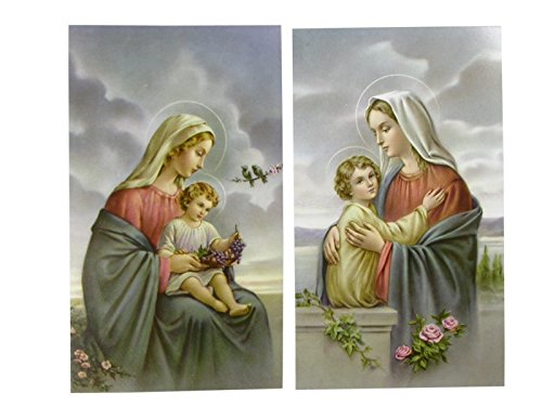 MaMeMi Creación de un icono virgen 6 x 10 cm