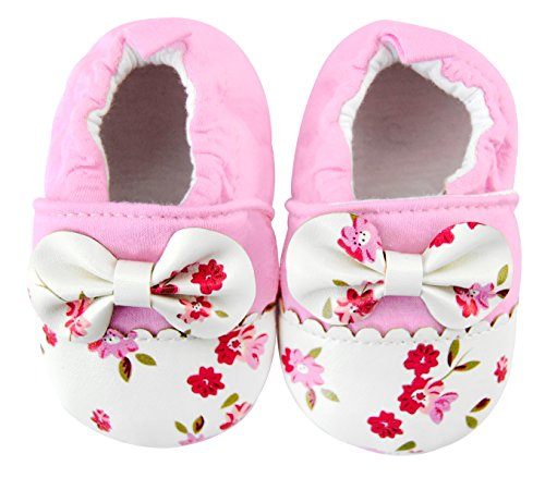 Axy Baby plastique Tapis D'éveil Chaussures Chaussures bébé 0 à 12 mois – Little Princess - Rose - rose bonbon,