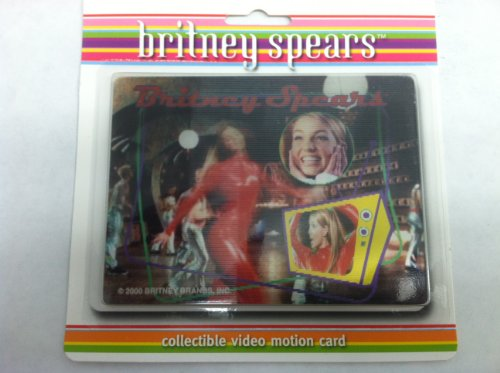 Oops!...i Did It Again Video Motion Card