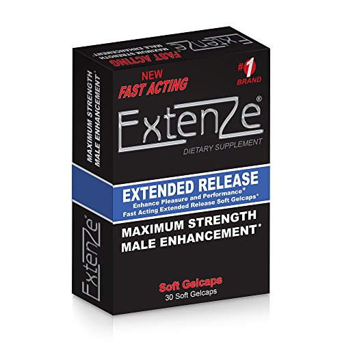 Extenze Extended Release Maximum Strenght Soft Gel Capsules