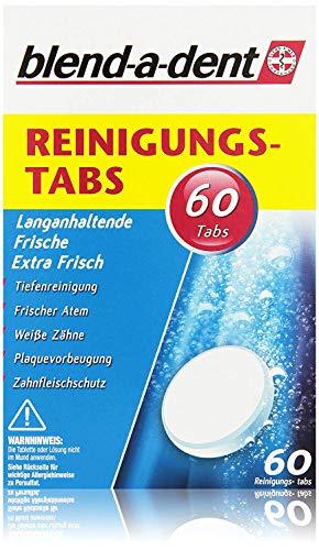 Blend-a-dent Reinigungstabs Langanhaltende Frische -Extra Frisch, 60 Tabs