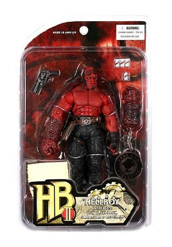 Hellboy 2: The Golden Army: SDCC Exclusive 'Locker Room' Hellboy Action Figure