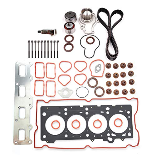 ANPART Automotive Replacement Parts Engine Kits Timing Belt kit Head Gasket Bolts Sets Fit: for Chrysler PT Cruiser 2.4L 2003-2009