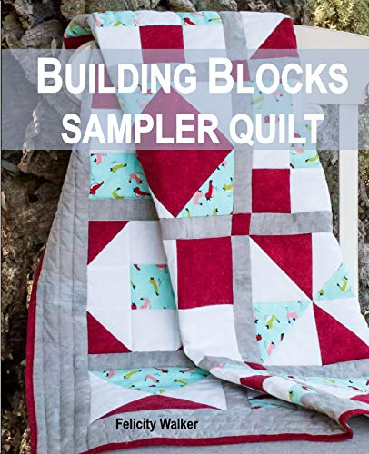 Building Blocks Sampler Quilt: A Quilting for Beginners Quilt Pattern & Tutorial (English Edition)