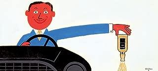 Don't Drink and Drive Vintage Poster (artist: Savignac, Raymond) c. 1970 65641 (24x36 SIGNED Print Master Art Print - Wall Decor Poster)