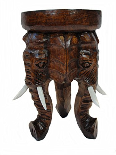 Unbekannt Hocker Elefant II Blumenpodest 50cm