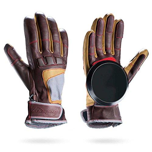 Loaded Boards Leather Advanced Freeride Longboard Slide Glove (Large/X-Large)