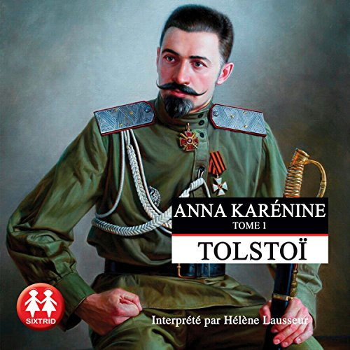 Anna Karénine 1 audiobook cover art