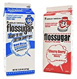Concession Essentials - CE 2 Pack Sugar Cherry and Blueberry 2 Pack Cotton Candy Sugar Cherry and Blueberry