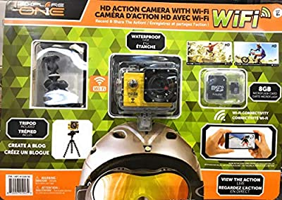 ExploreOne WiFi HD Action Camera w/Accessories from Explore One