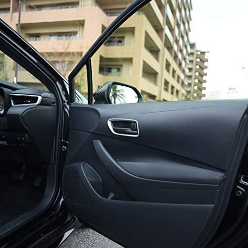 Preisvergleich Produktbild HIGH FLYING für Corolla Hybrid 5-Türer / Touring Sports E210 2020 2019 Matt Interieur Türgriff Dekor 4 Stück ABS Kunststoff