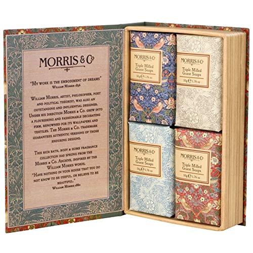 Morris & Co Confort Jabones Gift Set Paquete de 4