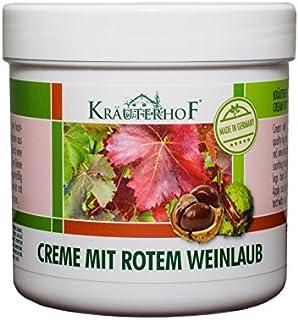 Kräuterhof 10452 Creme mit rotem Weinlaub 250ml K2/2