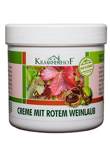 Kräuterhof 10452 Creme mit rotem Weinlaub 250ml (K2/2)