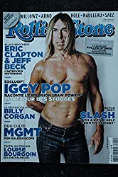 ROLLING STONE M 01024 21 Cover Iggy Pop Eric Clapton Jeff Beck Slash Louise Bourgoin MGMT - 2010 05