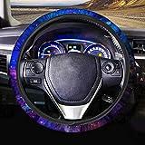 AFPANQZ Nebula Galaxy Design Steering Wheel Covers 14-15' inch Universal Fit Most Car Sedans SUVs Comfort Grip Comfortable Handmade Neoprene Breathable Steering Wheel Protector Blue Purple