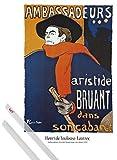 1art1 Henri De Toulouse-Lautrec Poster (91x61 cm) Aristide
