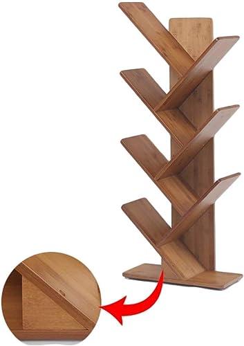 tomamos a los clientes como nuestro dios ZHAS ZHAS ZHAS Estante Estantería, Marco Decorativo de bambú de la Sala de Estar de la estantería en Forma de árbol Creativo (Tamaño  4 Niveles)  60% de descuento