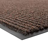 Notrax 109 Brush Step Entrance Mat, for Home or Office, 3' X 5' Brown
