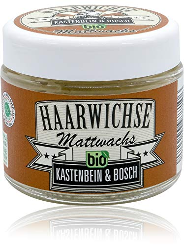 Haarwichse Mattwachs - Das Bio Haarwachs für langen &...