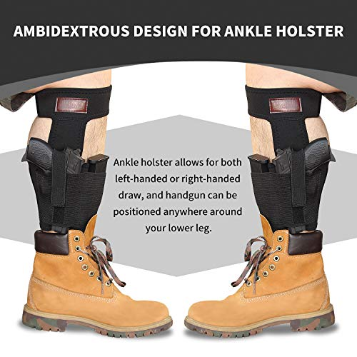 5. CREATRILL Bundle of Belly Band Holster + Ankle Holster for Concealed Carry