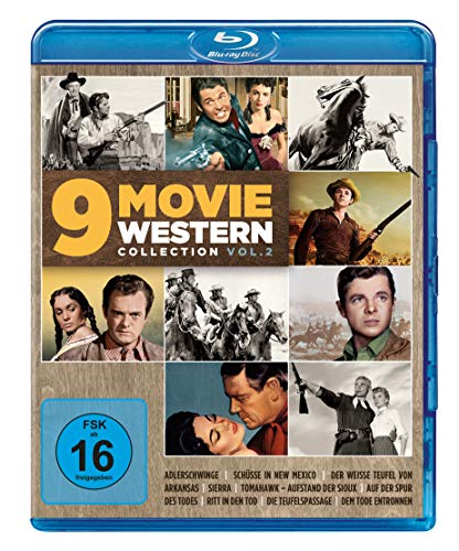 9 Movie Western Collection - Vol. 2 [Blu-ray]