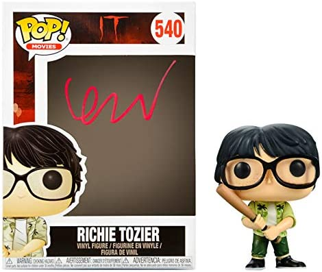 Finn Free shipping Wolfhard Autographed IT Richie Tozier #540 Bargain sale POP Vinyl
