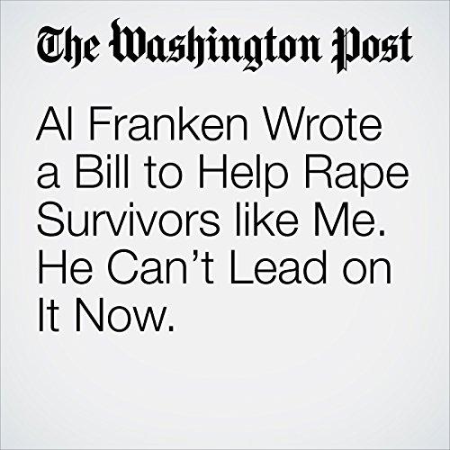 Al Franken Wrote a Bill to Help Rape Survivors like Me. He Can't Lead on It Now. copertina