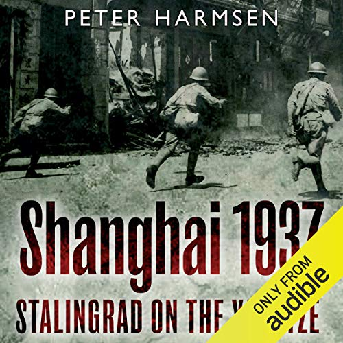 Shanghai 1937 audiobook cover art