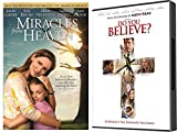 It's About The Power Of The Cross: Do You Believe? & Miracles From Heaven 2 DVD Faith Based Bundle