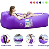 FRETREE Inflatable Lounger Air Sofa Hammock - Portable Anti-Air...