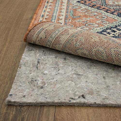 Mohawk Home Ultra Premium All Surface 1/4 Inch Rug Pad, 8' X 10', Gray