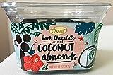 CHOCEUR DARK CHOCOLATE COVERED COCONUT ALMONDS 10 oz.(2 packs) KOSHER