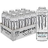 Monster Energy Zero Ultra, 24 ounce (Pack of 12)