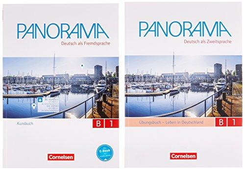 Panorama: B1: Gesamtband - Kursbuch und Übungsbuch DaZ: 120523-2 und 120525-6 im Paket (Panorama - Deutsch als Fremdsprache)