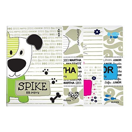 Pajory Cuaderno Grapado, Kids Fun, A4, 60F 80 g, Pautado