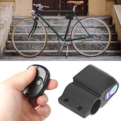 FOKH Bloqueo de Control Remoto de Bicicleta, Accesorio de Ciclismo más Duradero y más útil con Bloqueo inalámbrico de Bicicleta de Control Remoto por Infrarrojos para Proteger la Bicicleta