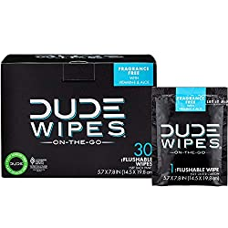 Individual Cleaning Wipes for Dude's