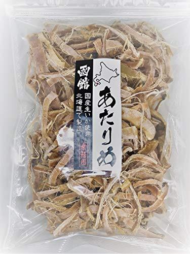 函館 あたりめ 500g (国産) 業務用 チャック袋入【北海道近海で獲れた生イカを使用】