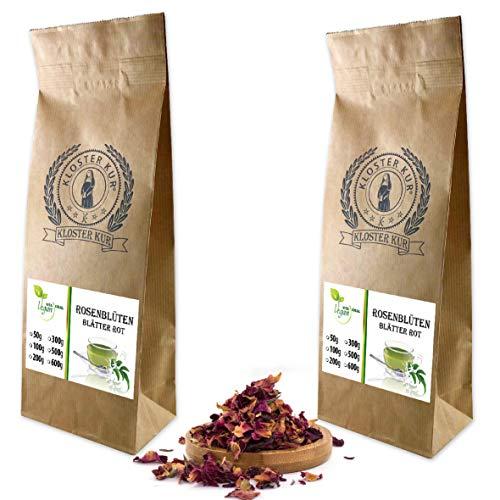 VITAIDEAL VEGAN® Pfingstrosenblütenblätter geschnitten (Pfingstrose, Paeonia officinalis) 2x300g, rein natürlich ohne Zusatzstoffe.