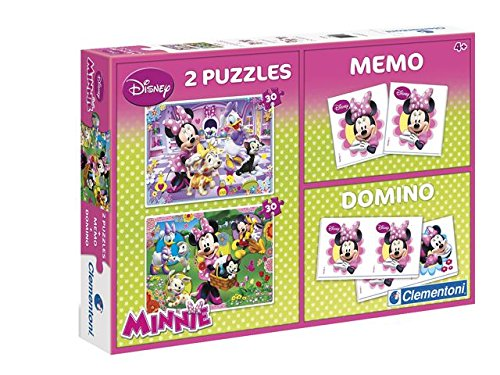 Clementoni - 0602005 - Malette De Jeu - Minnie Super - Kit 4 en 1