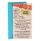 Hallmark Funny Father's Day Card From Dog (I'll Never Leave My Master With Removable Dog Tag)