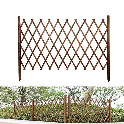 Rankgitter/Holz Rankgitter/Ausziehbare/Freistehend/Garten Spalier/Grid Dekoration/Outdoor Gartenzaun/Pflanzen Gitter Klettergerüst (Size : 90x160cm)